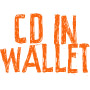 Aanbieding - CD in wallet
