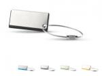 Metalen-plastic sleutelhanger