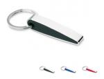 Plastic & metalen sleutelhanger