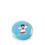 Button met magneet, koelkastmagneet